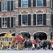 NLD/Den Haag/20110920 - Prinsjesdag 2011, vetrek Gouden Koets