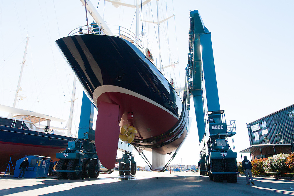 images from Fall 2013 at Newport Shipyard Marina in Newport, R.I.