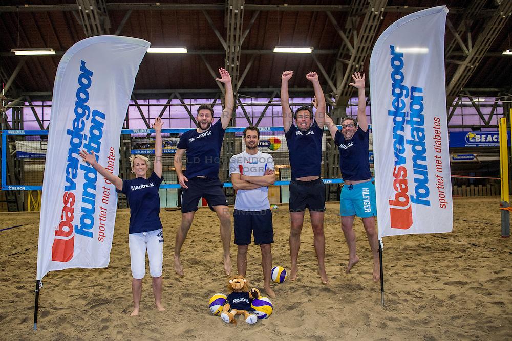 20-01-2017 NED: BvdGF partner beachvolleybal toernooi 2017, Aalsmeer<br /> In de beach te Aalsmeer organiseerde de Bas van de Goor Foundation het beach event voor haar partners