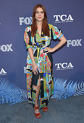 August 2, 2018 - West Hollywood, California, U.S. - Aya Cash arrives for the FOX Summer TCA 2018 All-Star Party at Soho House. (Credit Image: © Lisa O'Connor via ZUMA Wire)