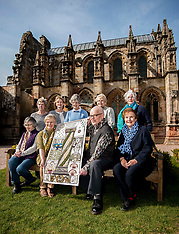 Great Tapestry of Scotland restored | Roslin | 1 May 2017