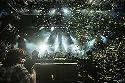 Biffy Clyro headline the main stage on Friday T in the Park 2014.<br /> © Michael Schofield.