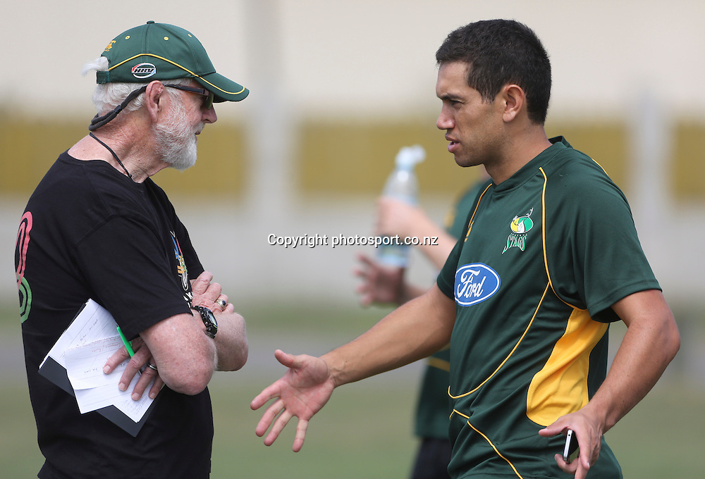 Ross Taylor, former Black Caps captain rejoins the Central Districts Stags at Nelson Park, Napier, New Zealand. Wednesday, 23 January, 2013. Photo: John Cowpland / photosport.co.nz