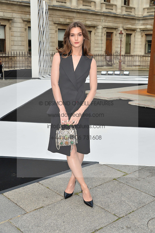 SAI BENNETT at the Royal Academy of Arts Summer Exhibition Preview Party at The Royal Academy of Arts, Burlington House, Piccadilly, London on 7th June 2016.