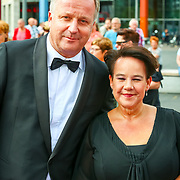 NLD/Amsterdam/20180616 - 26ste AmsterdamDiner 2018, Sharon Dijksma en partner Thomas Windmulder