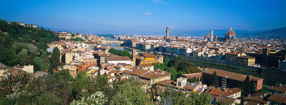 Italie, Toscane, Florence, vue generale // Italy, Tuscany, Florence, general view