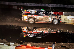 October 26, 2017 - Deeside, Wales, United Kingdom - 3 Elfyn Evans (GBR) and co-driver Daniel Barrit (GBR) of M-Sport compete in the Tir Prince Special Stage, Wales of the Rally GB round of the 2017 FIA World Rally Championship. (Credit Image: © Hugh Peterswald/Pacific Press via ZUMA Wire)