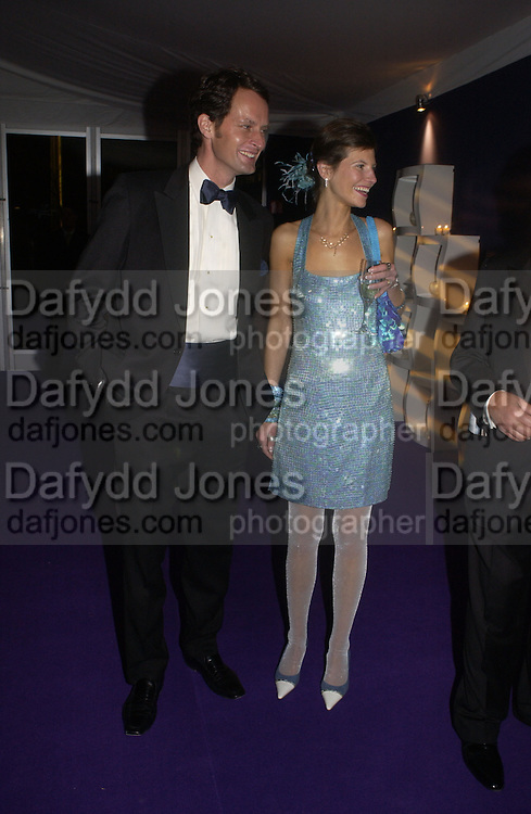 Chairman of the Ball James Johnstone and his wife Caroline., British Red Cross London Ball,- H20 the Element of Life held at the Room By the River. SE1. 17 November 2005. ONE TIME USE ONLY - DO NOT ARCHIVE  © Copyright Photograph by Dafydd Jones 66 Stockwell Park Rd. London SW9 0DA Tel 020 7733 0108 www.dafjones.com