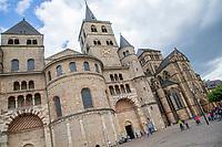 TRIER (Treves) - Duitsland - binnenstad, innerstadt,   City, centrum,  Dom St. Peter,  Kathedraal, COPYRIGHT KOEN SUYK