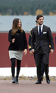 Prince Carl Philip and Princess Sofia visit Dalarna, 06-10-2015