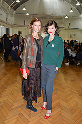 Left to right, JACQUETTA WHEELER and JASMINE GUINNESS at a lunch in aid of the charity African Solutions to African Problems (ASAP) held at the Royal Horticultural Hall, Vincent Square, London on 19th May 2016.
