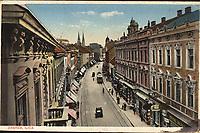 Zagreb : Ilica. <br /> <br /> ImpresumZagreb : St. Kugli, [1920].<br /> Materijalni opis1 razglednica : svjetlotisak ; 9,1 x 14 cm.<br /> NakladnikKnjižara Stjepan Kugli (Zagreb)<br /> Vrstavizualna građa • razglednice<br /> ZbirkaZbirka razglednica • Grafička zbirka NSK<br /> Formatimage/jpeg<br /> PredmetZagreb –– Ilica<br /> SignaturaRZG-ILIC-20<br /> Obuhvat(vremenski)20. stoljeće<br /> NapomenaRazglednica je putovala 1920. godine<br /> PravaJavno dobro<br /> Identifikatori000921366<br /> NBN.HRNBN: urn:nbn:hr:238:327350 <br /> <br /> Izvor: Digitalne zbirke Nacionalne i sveučilišne knjižnice u Zagrebu