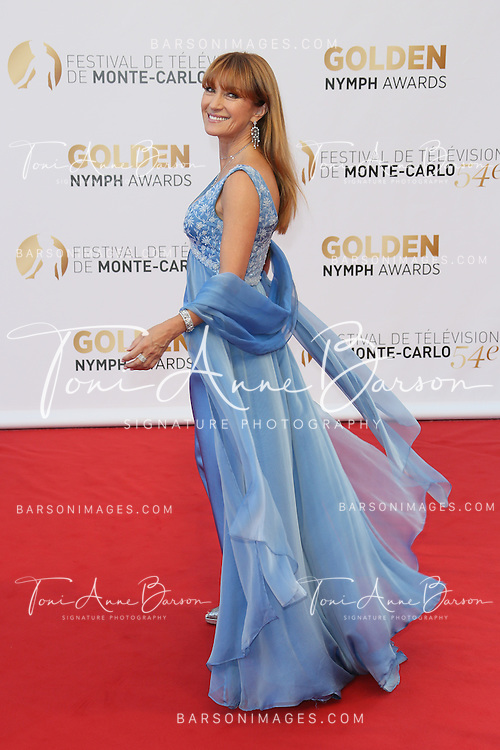MONTE-CARLO, MONACO - JUNE 11:  Jane Seymour attends the Closing Ceremony and Golden Nymph Awards of the 54th Monte Carlo TV Festival on June 11, 2014 in Monte-Carlo, Monaco.  (Photo by Tony Barson/FilmMagic)