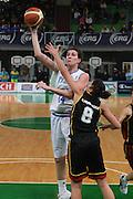 DESCRIZIONE : Priolo Additional Qualification Round Eurobasket Women 2009 Italia Belgio<br /> GIOCATORE : Eva Giauro<br /> SQUADRA : Nazionale Italia Donne<br /> EVENTO : Qualificazioni Eurobasket Donne 2009<br /> GARA :  Italia Belgio<br /> DATA : 16/01/2009<br /> CATEGORIA : Tiro<br /> SPORT : Pallacanestro<br /> AUTORE : Agenzia Ciamillo-Castoria/G.Ciamillo