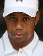 Tiger Woods portrait head and shoulders March 2013<br /> <br /> Picture By Mark Newcombe / visionsingolf.com