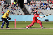 Lancashires Alex Davies during the Vitality T20 Blast North Group match between Lancashire Lightning and Birmingham Bears at the Emirates, Old Trafford, Manchester, United Kingdom on 10 August 2018.