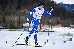RESHETYNSKIY laroslav Guide: KHURTYK Dmytro, UKR at the 2014 IPC Nordic Skiing World Cup Finals - Middle Distance