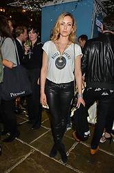 CAMILLA AL FAYED at the Belvedere Balance Bar Launch Party at The Hoxton Hotel, 81 Great Eastern Street, London on 10th May 2016.