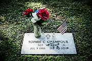 Suzy Champoux's daughter, Sgt. Sophie Champoux, was found dead in September 2011, a gunshot wound behind her ear, at age 25. She had been raped three times on three different military bases, including one in Afghanistan.
