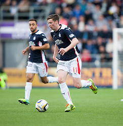 Falkirk's Conor McGrandles. Falkirk 0 v 2 Rangers, Scottish Championship game played 15/8/2014 at The Falkirk Stadium.