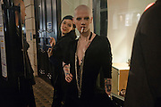 PHILIP STEPHENS; MICHELLE KELLY; POLLY FEY, LANVIN PARTY. Savile Row. London. 11 November 2009.