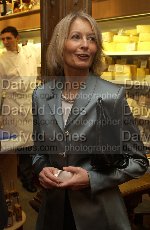 Mrs. Michael Howard, Christmas shopping evening in aid of  Sargent, ( cancer care for children), fortnum and Mason, 17 November 2003. © Copyright Photograph by Dafydd Jones 66 Stockwell Park Rd. London SW9 0DA Tel 020 7733 0108 www.dafjones.com