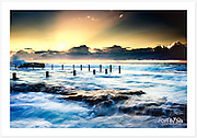 Daybreak at Mahon Pool [Maroubra, NSW]<br />