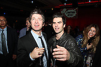 Noel Gallagher and Kelly Jones (Stereophonics)