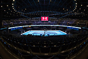 The SSE Hyrdo arena ahead of the Andy Murray Live event at SSE Hydro, Glasgow, Scotland on 7 November 2017. Photo by Craig Doyle.