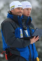 Matej Oblak at Men 20 km Individual at E.ON Ruhrgas IBU World Cup Biathlon in Hochfilzen (replacement Pokljuka), on December 18, 2008, in Hochfilzen, Austria. (Photo by Vid Ponikvar / Sportida)