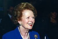 Baroness Thatcher, former Prime Minister, Conservative Party, UK, 19961046MT.<br />