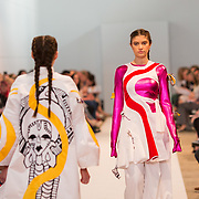 11.05. 2017.                                                 <br /> A model wears designs by Alana Conlon, titled by Divine Disarray at Limerick School of Art & Design, LIT, the LSAD 360°Fashion Show, sponsored by AIB. Picture: Alan Place