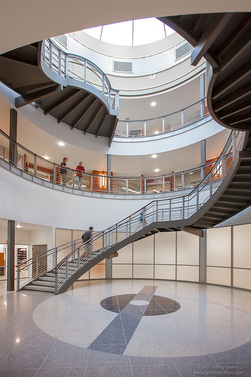 Interior Design image of Washington County Free Library in Hagerstown MD by Jeffrey Sauers of Commercial Photographics
