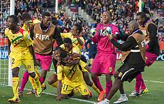 Christchurch-Football, Under 20 World Cup, Mali v Germany