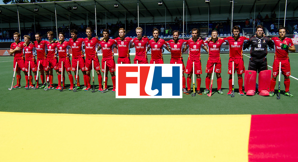 BREDA - Rabobank Hockey Champions Trophy<br /> Belgium - Pakistan<br /> Photo: <br /> COPYRIGHT WORLDSPORTPICS FRANK UIJLENBROEK