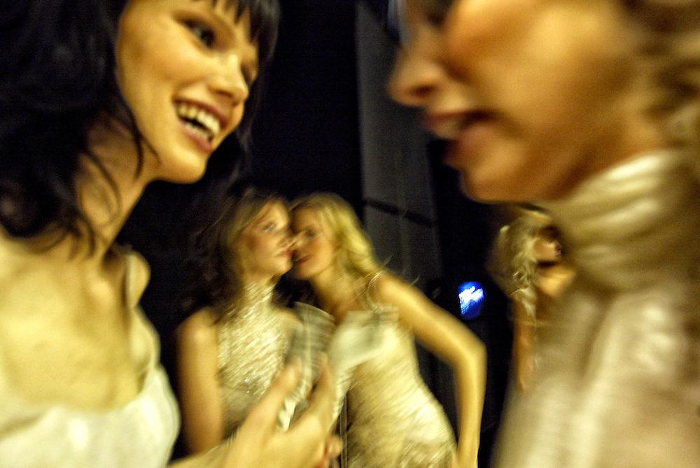 Barcelona, Catalunya, Spain.<br /> One day with the fashion model Karolina Kurkova.&copy; Carmen Secanella.