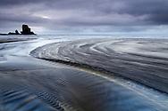 Sea stack & Talisker Beach, Isle of Skye, Scotland