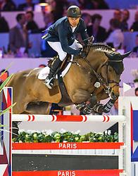Farrington Kent, USA, Voyeur<br /> Gold Cup<br /> Longines Masters Paris 2016<br /> © Hippo Foto - Cara Grimshaw