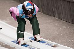 February 7, 2019 - Ljubno, Savinjska, Slovenia - Marta Krepelkova of Czech Republic competes on qualification day of the FIS Ski Jumping World Cup Ladies Ljubno on February 7, 2019 in Ljubno, Slovenia. (Credit Image: © Rok Rakun/Pacific Press via ZUMA Wire)