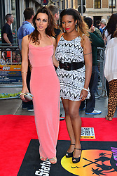Bula Quo UK film premiere.  <br /> (L-R) Celena Cherry and Mariama Goodman attend premiere of Status Quo action film featuring 12 of the rock band's classic tracks. Directed by former stunt co-ordinator Stuart St Paul, starring Jon Lovitz, Craig Fairbrass, Laura Aikman and the band members themselves. Released July 5. Odeon West End, London, United Kingdom.<br /> Monday, 1st July 2013<br /> Picture by Nils Jorgensen / i-Images