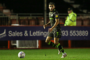 Forest Green Rovers Dominic Bernard(3) runs forward during the EFL Sky Bet League 2 match between Crawley Town and Forest Green Rovers at The People's Pension Stadium, Crawley, England on 4 January 2020.