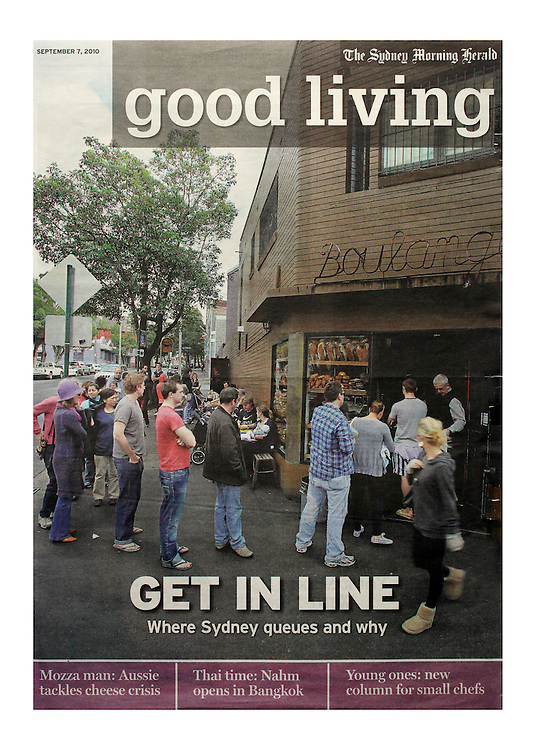 Good Living, The Sydney Morning Herald- 2010