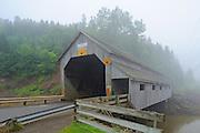 Vaughn Creek #1 , Irish River Covered bridge<br /> Saint Martins<br /> New Brunswick<br /> Canada