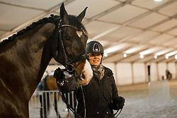 Roos Laurence, BEL, Fil Rouge<br /> Jumping Mechelen 2017<br /> © Sharon Vandeput<br /> 26/12/17
