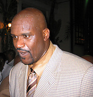 Shaquille O'Neal .Shaquille O'Neal Kick Off Event.Casa Casaurina aka (Versace Mansion).Miami Beach, FL, USA.Thursday, February 01, 2007.Photo By Celebrityvibe.com.To license this image please call (212) 410 5354; or.Email: celebrityvibe@gmail.com ;.Website: www.celebrityvibe.com