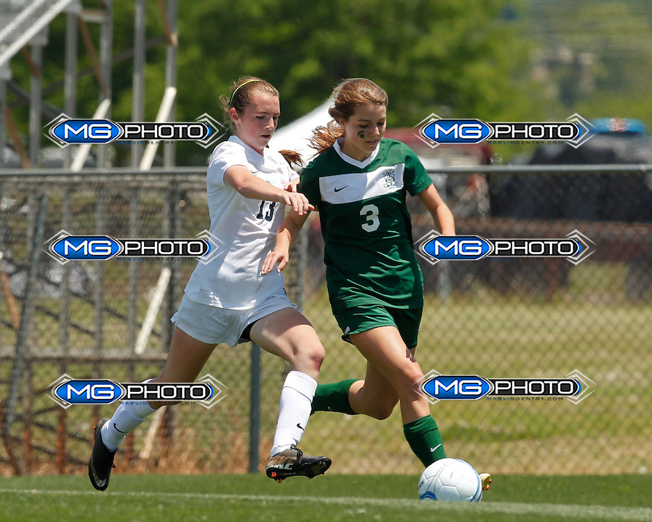 May 10, 2014; Huntsville, AL, USA;  during the 6A Girls State Soccer Championship at John Hunt Soccer Complex. Mandatory Credit: Marvin Gentry