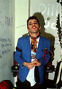 Ian Dury backstage - 1979