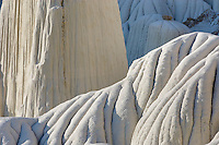 Erosion patterns, Wahweap Hoodoos, Grand Staircase Escalante National Monument Utah