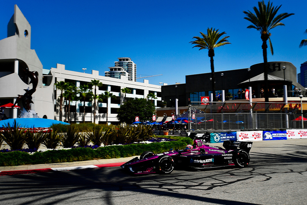 Jack Harvey, Meyer Shank Racing with Schmidt Peterson Honda<br /> Saturday 14 April 2018<br /> Toyota Grand Prix of Long Beach<br /> Verizon IndyCar Series<br /> Streets of Long Beach, California USA<br /> World Copyright: Scott R LePage<br /> LAT Images