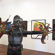 Art works on sale at Milford Galleries,  Dowling Street, Dunedin. New Zealand.  25th March 2011, Photo Tim Clayton.